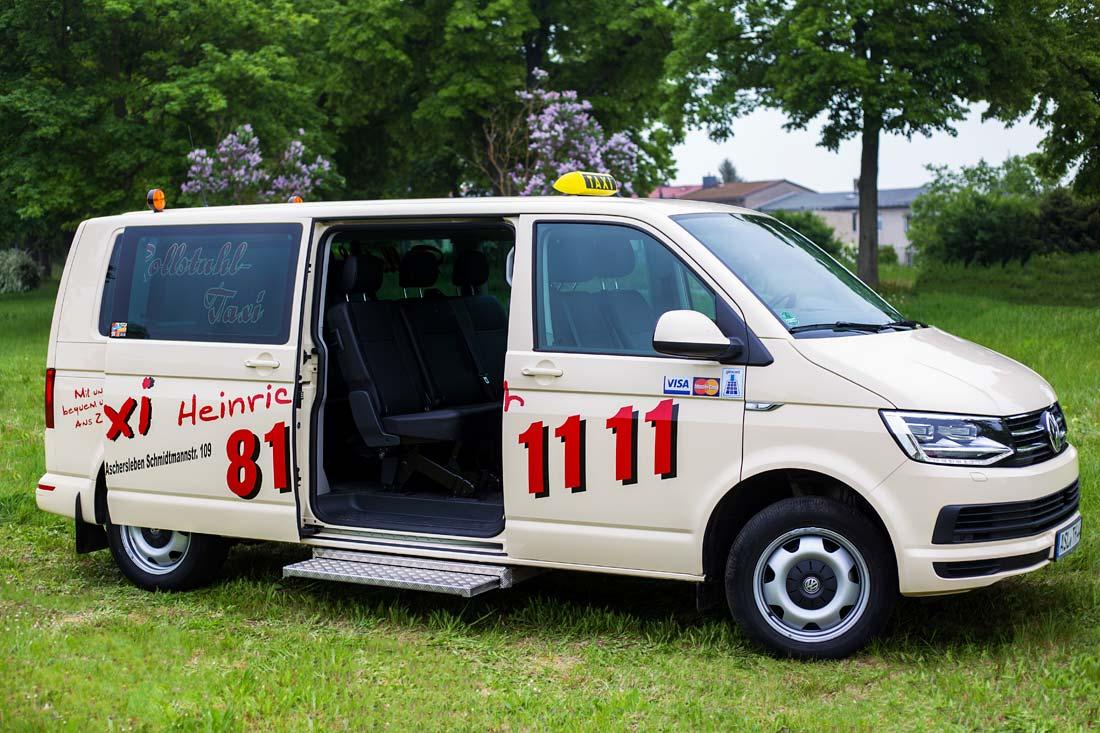 taxi heinrich aus aschersleben kleinbus rollstuhltaxi. Black Bedroom Furniture Sets. Home Design Ideas